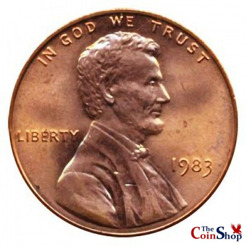1983-P Lincoln Cent