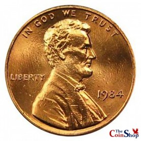1984-P Lincoln Cent