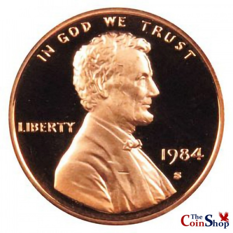 1984-S Lincoln Cent