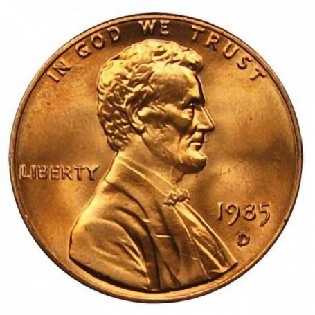 1985-D Lincoln Cent