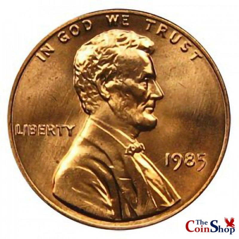 1985-P Lincoln Cent