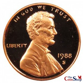 1988-S Lincoln Cent