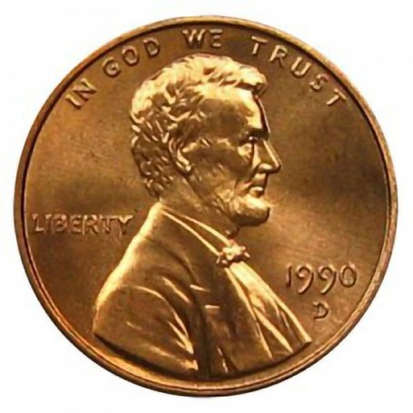 1990-D Lincoln Cent
