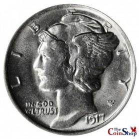 1917-P Mercury Dime