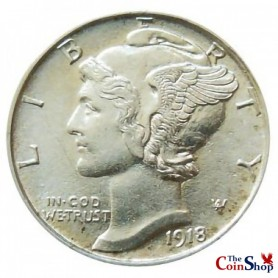 1918-S Mercury Dime Better Date