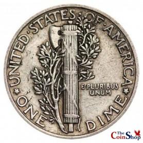 1921-P Mercury Dime