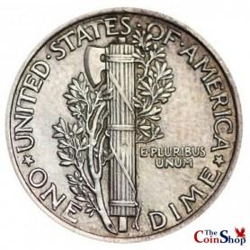 1924-P Mercury Dime