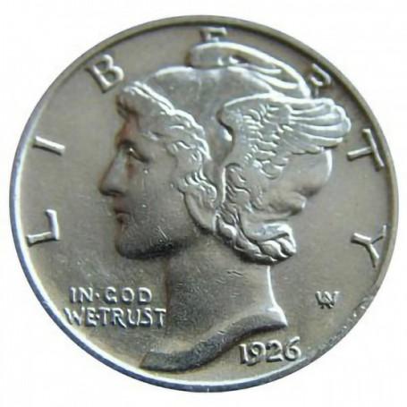 1926-P Mercury Dime