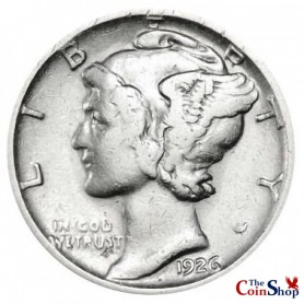 1926-S Mercury Dime Semi-Key Date
