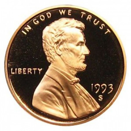 1993-S Lincoln Cent