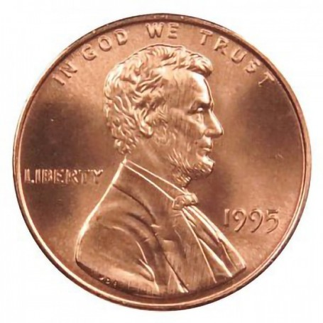 1995-P Lincoln Cent
