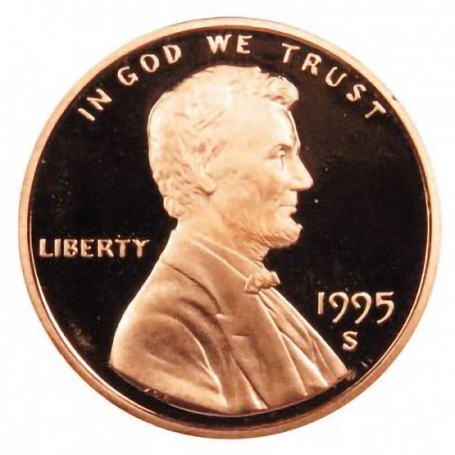 1995-S Lincoln Cent