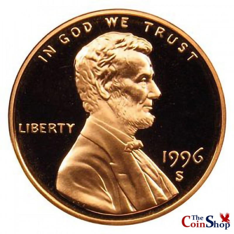 1996-S Lincoln Cent