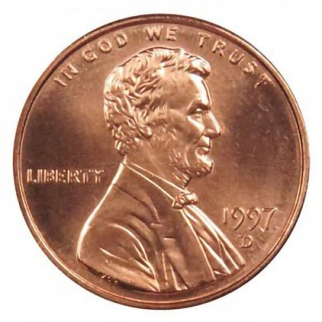 1997-D Lincoln Cent