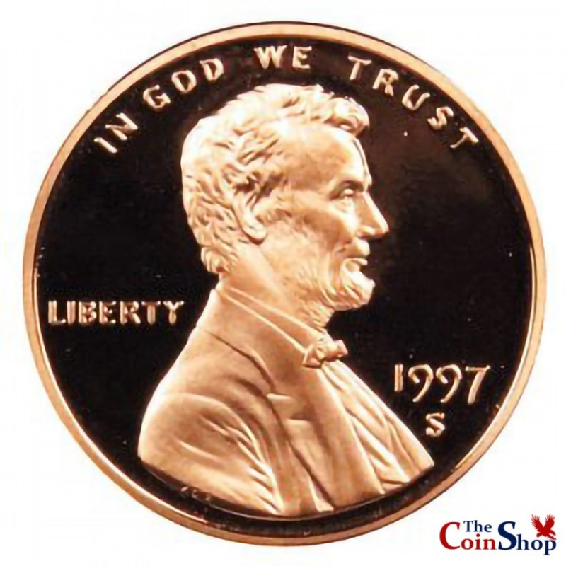1997-S Lincoln Cent