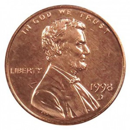1998-D Lincoln Cent