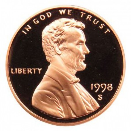 1998-S Lincoln Cent