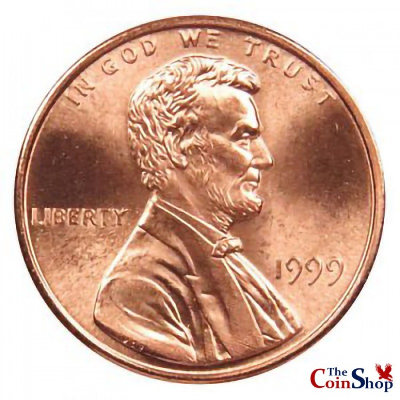 1999-P Lincoln Cent