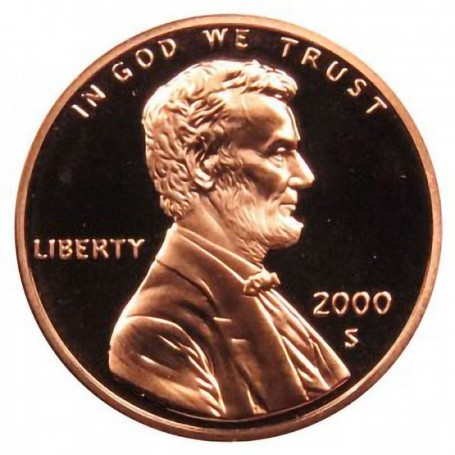 2000-S Lincoln Cent