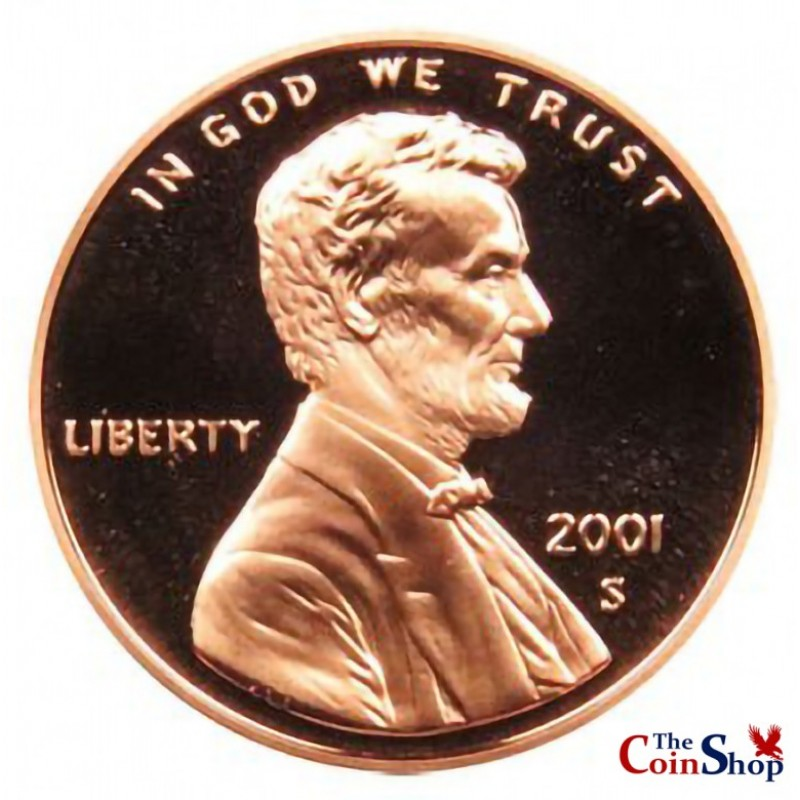 2001-S Lincoln Cent