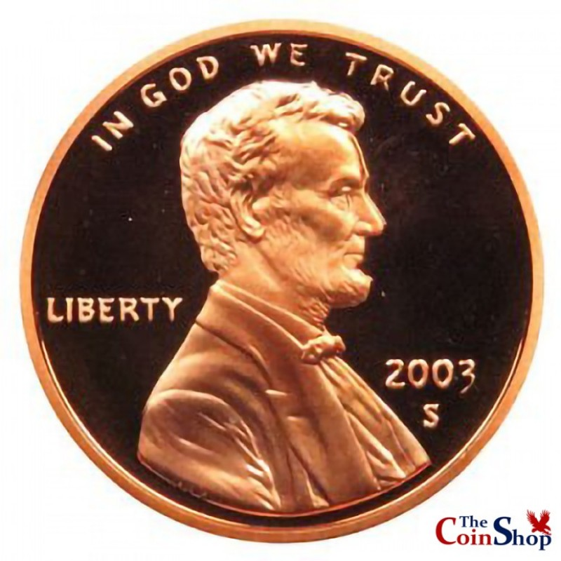 2003-S Lincoln Cent