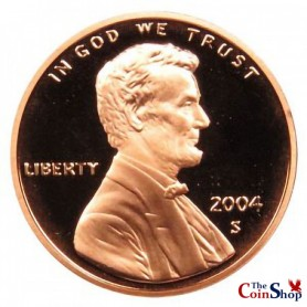 2004-S Lincoln Cent