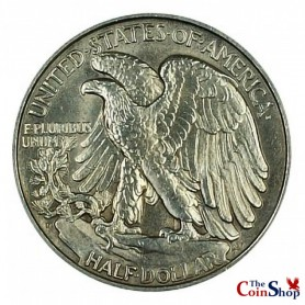 1918-D Walking Liberty Half Dollar