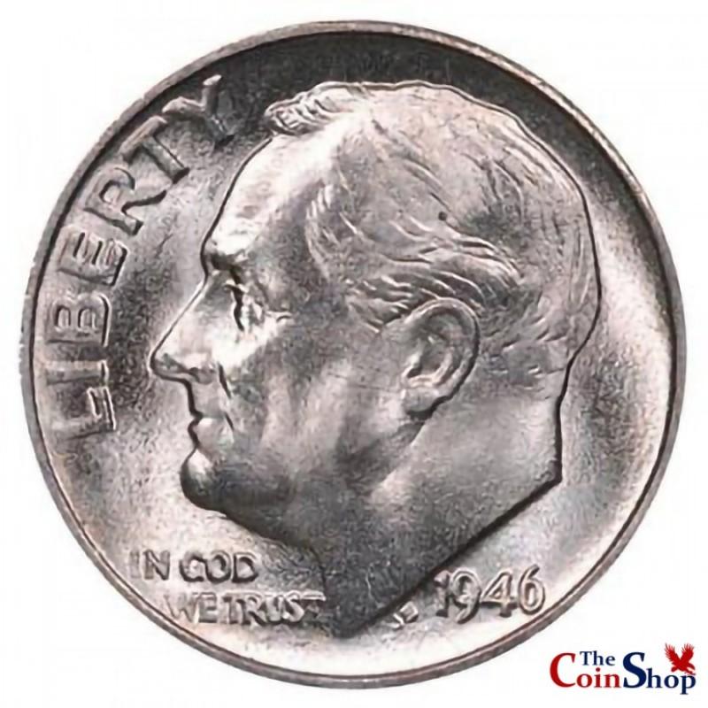 1946-S Roosevelt Dime
