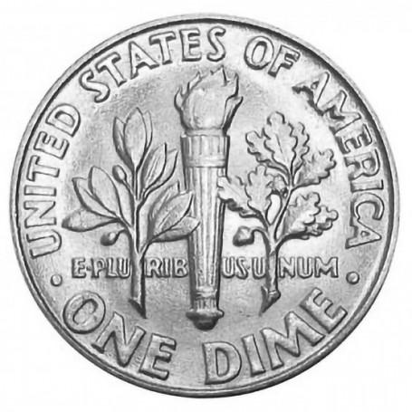 1947-P Roosevelt Dime