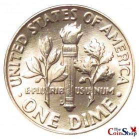 1958-D Roosevelt Dime