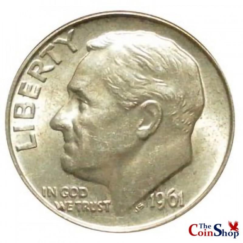 1961-P Roosevelt Dime
