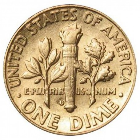 1963-D Roosevelt Dime