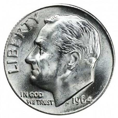 1964-D Roosevelt Dime