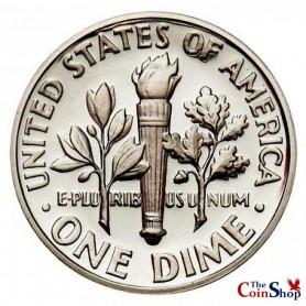 1964-P Roosevelt Dime
