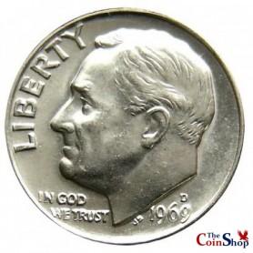 1969-D Roosevelt Dime