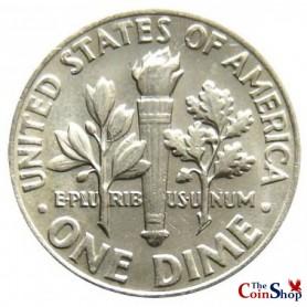1969-P Roosevelt Dime