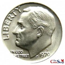 1970-D Roosevelt Dime