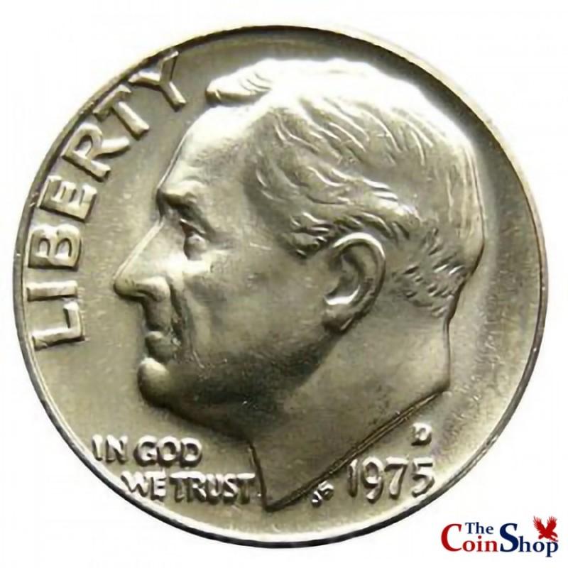 1975-D Roosevelt Dime