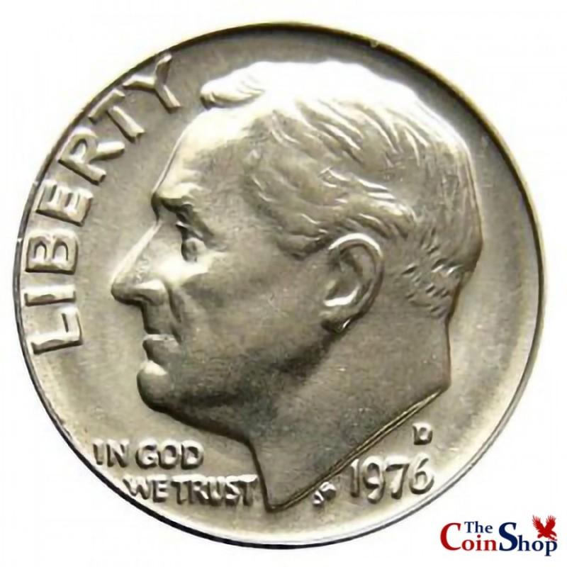 1976-D Roosevelt Dime