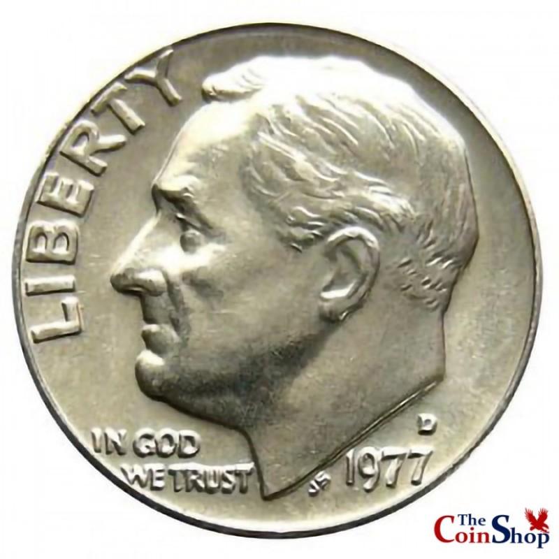 1977-D Roosevelt Dime