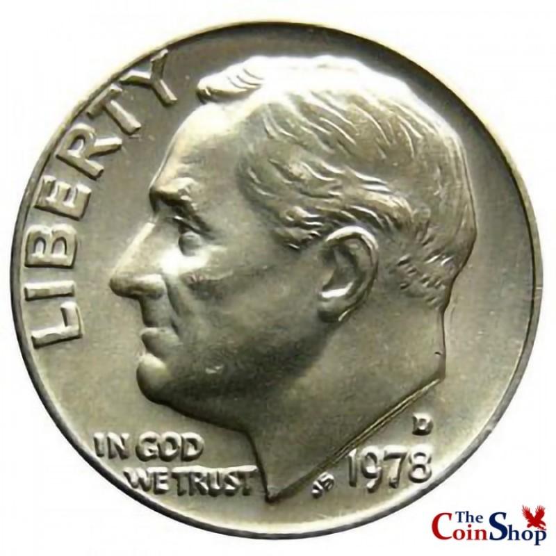 1978-D Roosevelt Dime