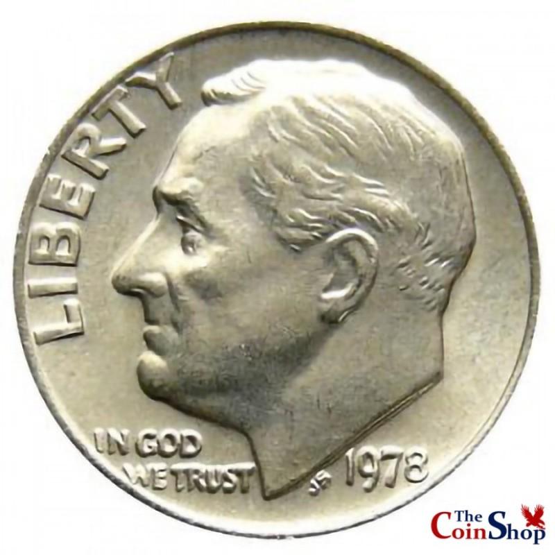 1978-P Roosevelt Dime