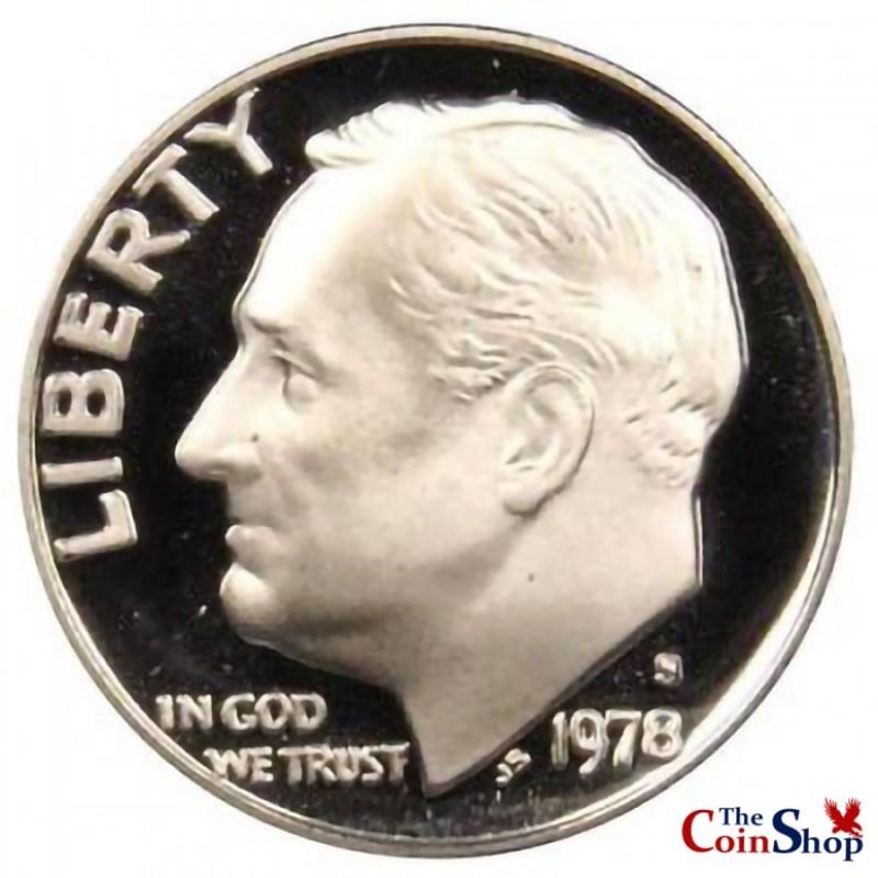 1978-S Roosevelt Dime