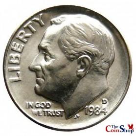 1984-D Roosevelt Dime
