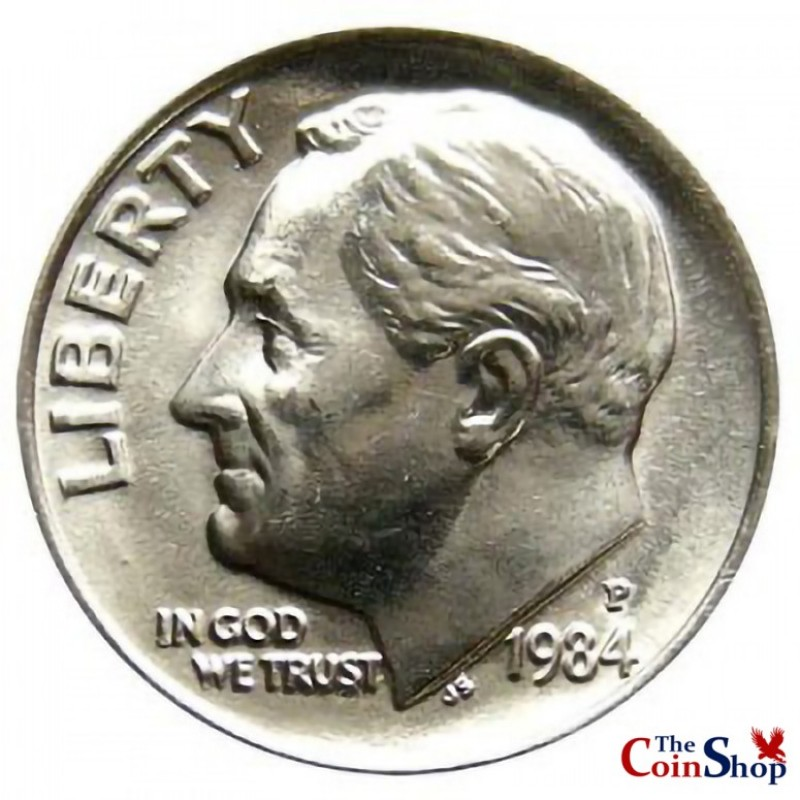 1984-P Roosevelt Dime