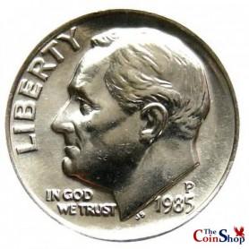 1985-P Roosevelt Dime