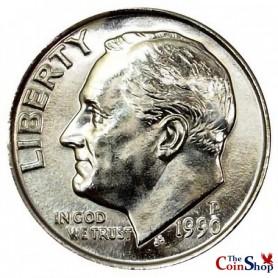 1990-P Roosevelt Dime