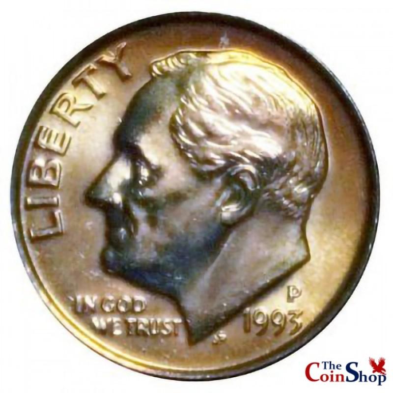 1993-P Roosevelt Dime