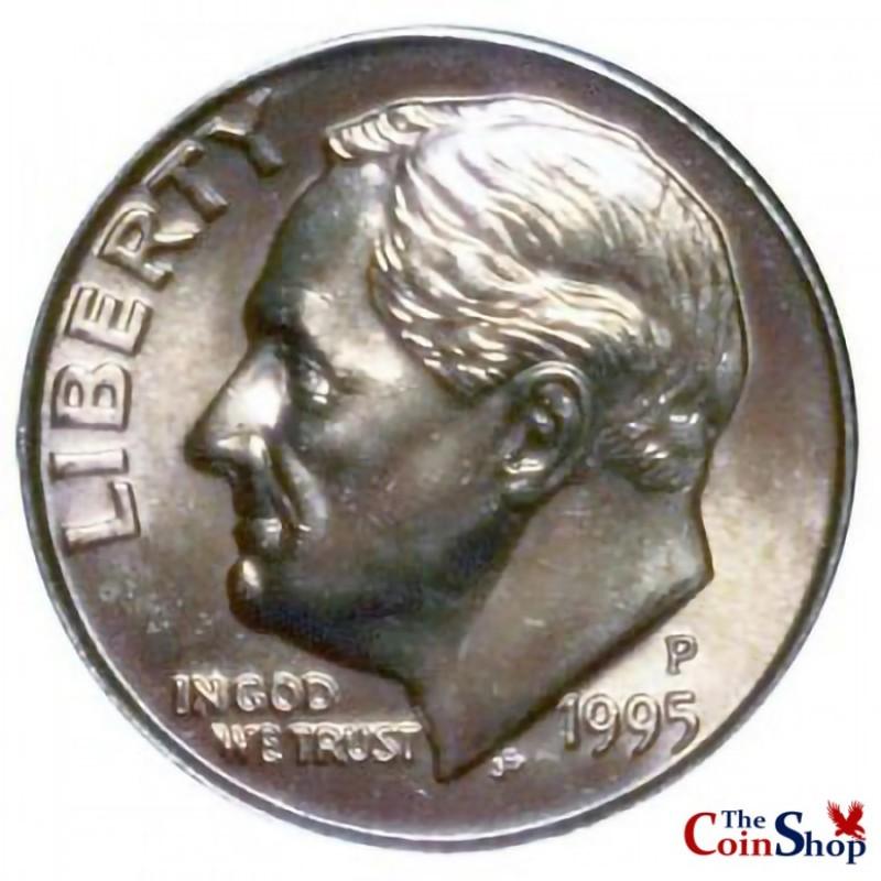 1995-P Roosevelt Dime