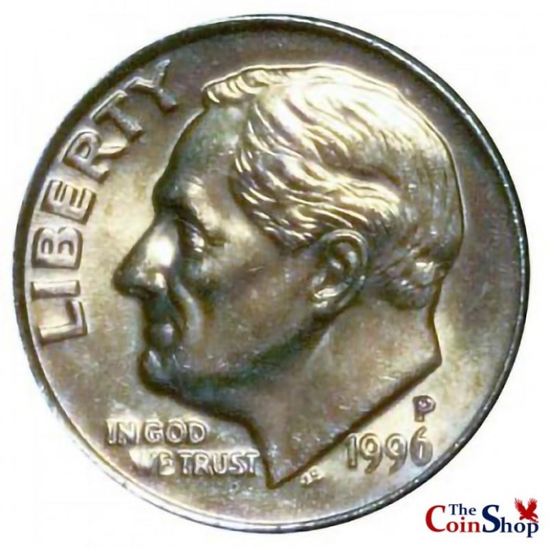 1996-P Roosevelt Dime